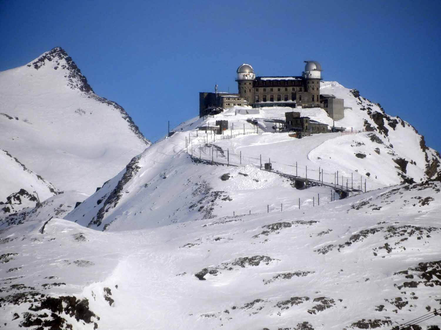 """Quick Tip - A roundtrip train ticket from Zermatt to the Gornergrat station from November to April is only 4 CHF less than the """"Ski Pass Zermatt"""". Even if you aren't skiing, you'll be better off buying the ski pass so you can check out the Matterhorn from the other lifts like the Sunnegga and Furi as well. Also, a roundtrip ticket on the Gornergrat from May-October varies between 98 CHF and 114 CHF, so going in the winter will get you the most bang for your buck!"""