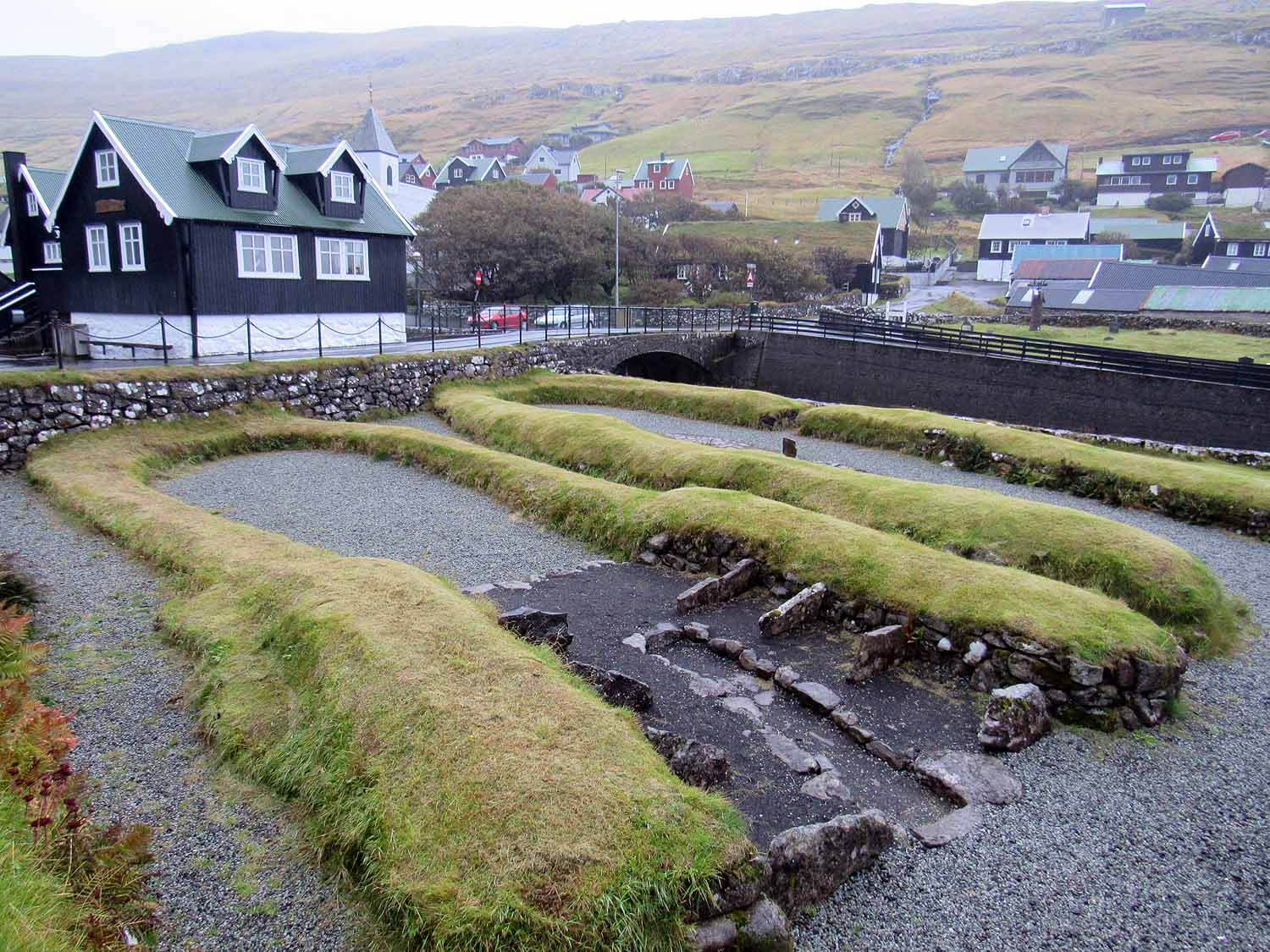 Remnants of an Ancient Civilization  - Kvívík is one of the most historic farmsteads in the Faroes and remains of Viking settlements can still be seen today. Excavations confirm the longhouse and barn were built here nearly 1,000 years ago.