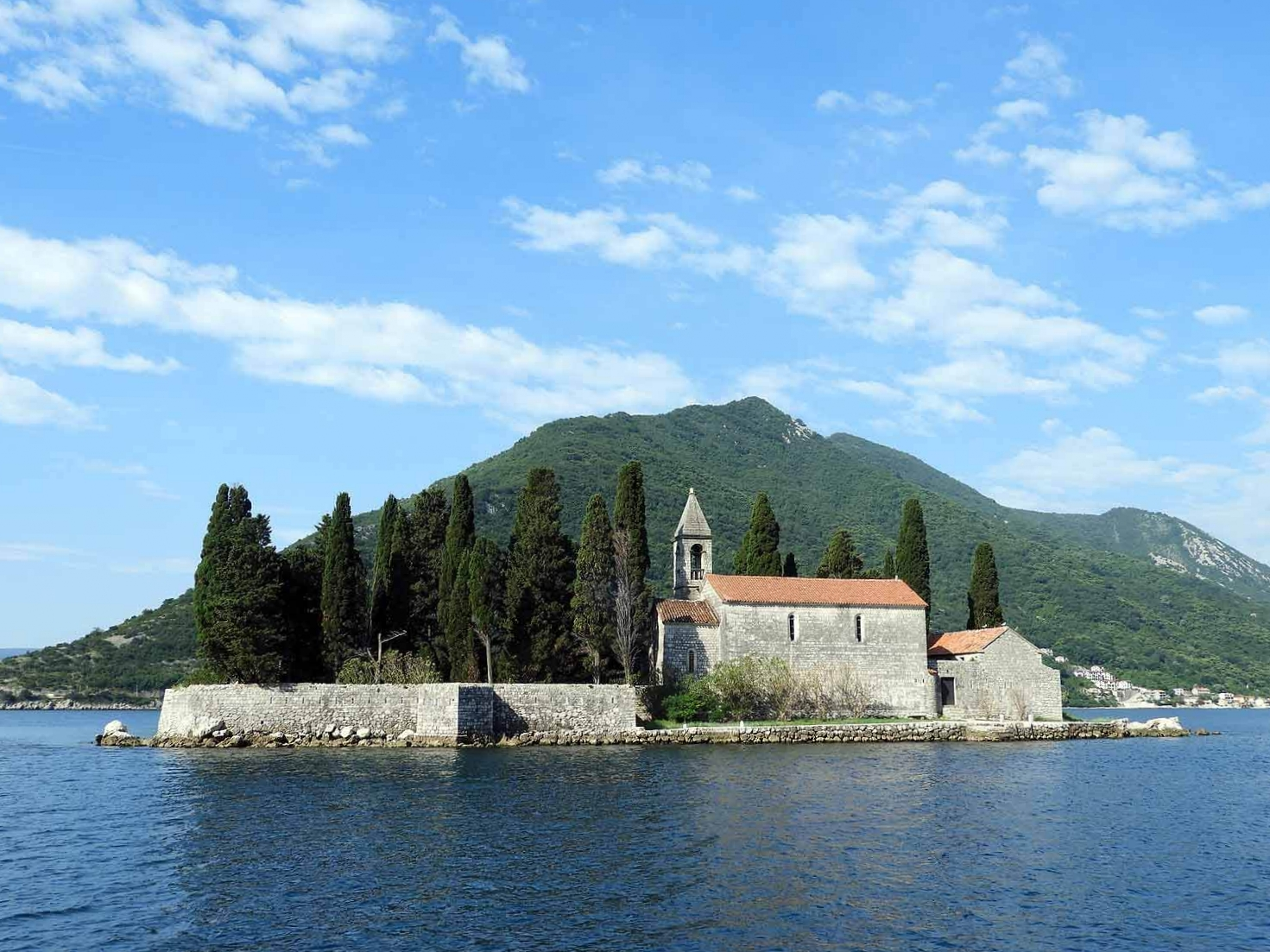 Sveti Dordje - Dont miss Our Lady of the Rocks Chapel located on a island in Kotor Bay.