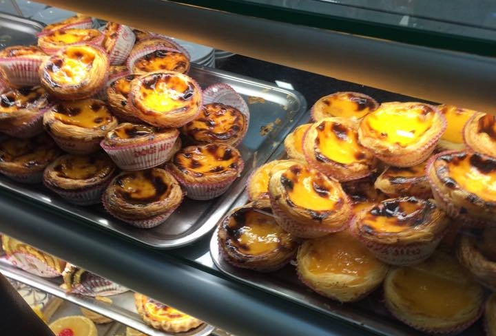 Pasteis de Nata - A delicious bite-sized custard pastry popular throughout Portugal. Generally you can get a Nata for about 1 euro, sometimes it's a bit more if you are someplace fancy. The original (and the best in our opinion) can be found in the Belém neighborhood at Pastéis de Belém.