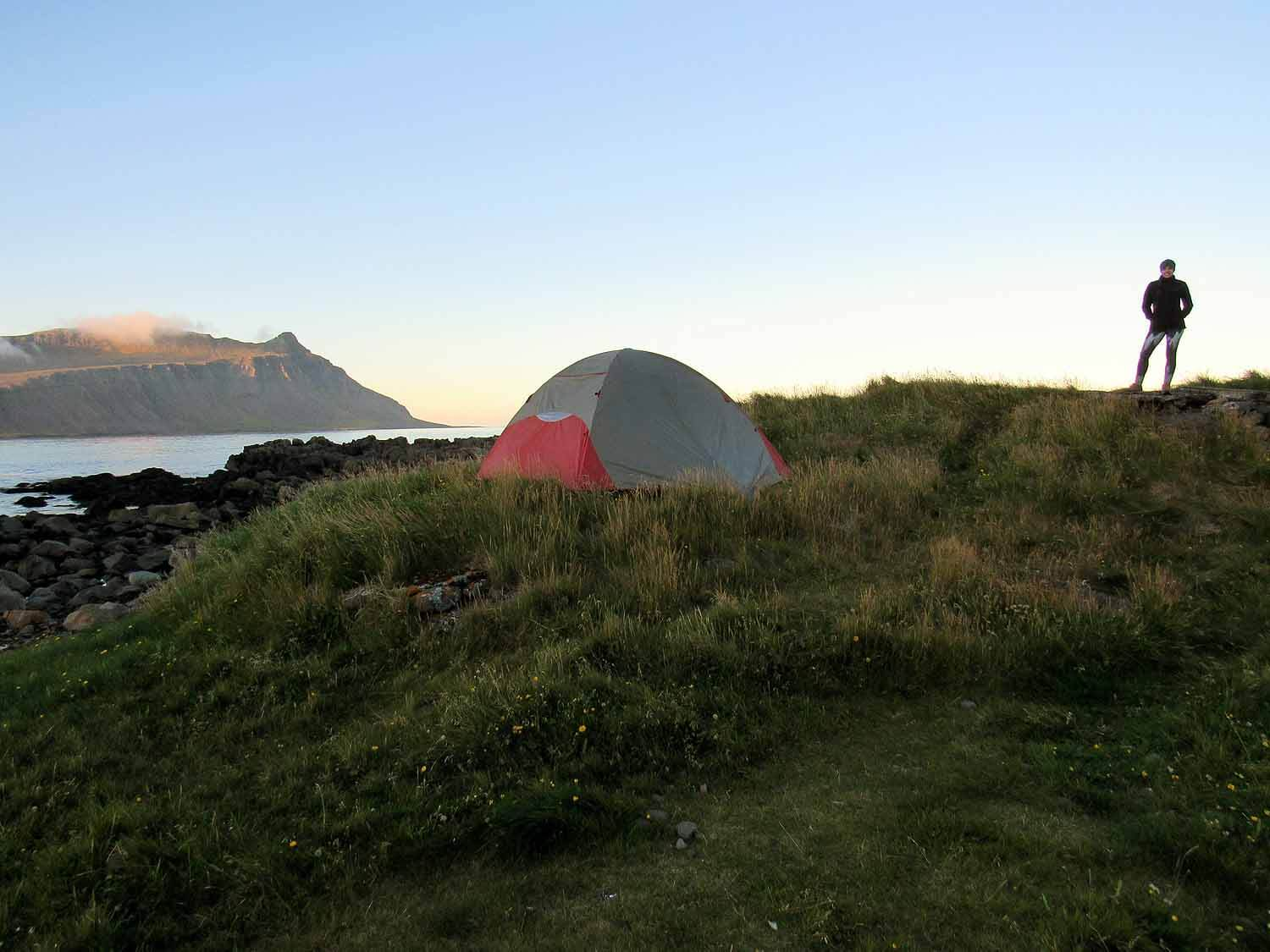 iceland-east-eastfjords-camping-tent-fishing-village-sunset.JPG