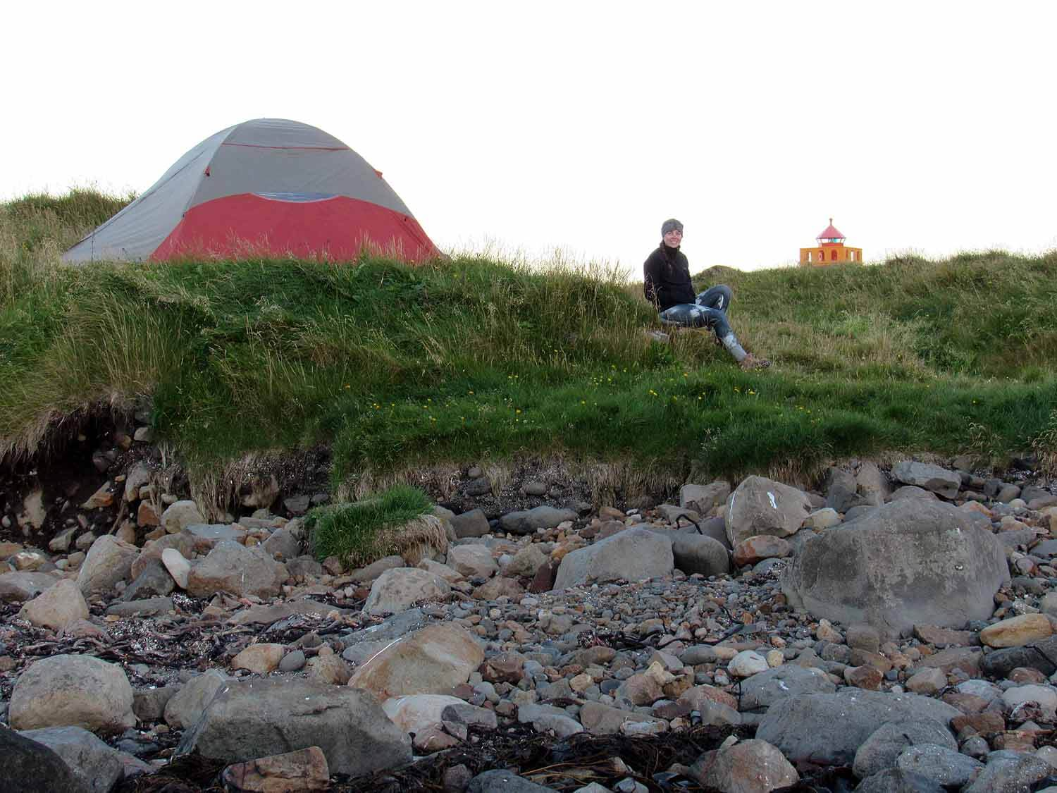 iceland-east-eastfjords-camping-tent-fishing-village-lighthouse.JPG