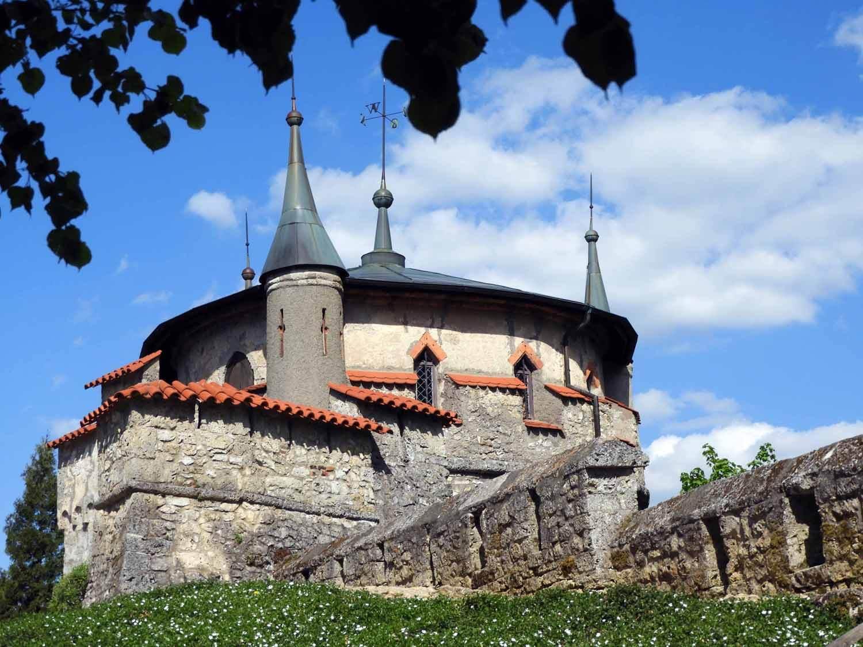 germany-schloss-lichtenstein-turret-defend-castle.JPG