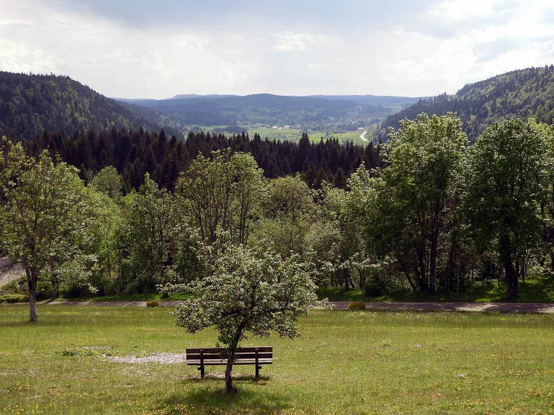 france-chateau-de-joux-bench-view.JPG