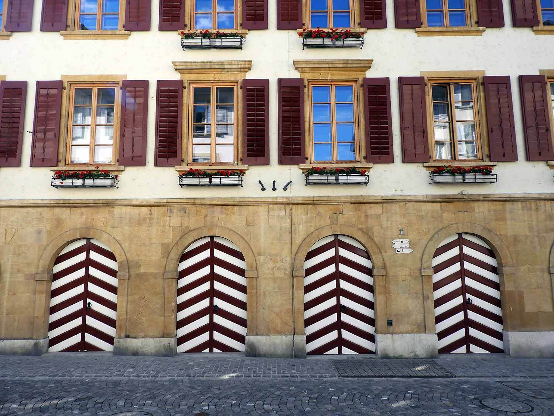 switzerland-murten-decorative-shutters-doors-chevrons.JPG