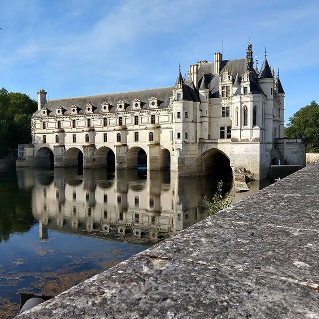 We are making our way through the Loire Valley - a valley known for its elaborate chateaus (there are over 300)! This one just might be our favorite.  #maistralife #maiastratravel #maiastra #loirevalley #chateau #chateauchenonceaux #france