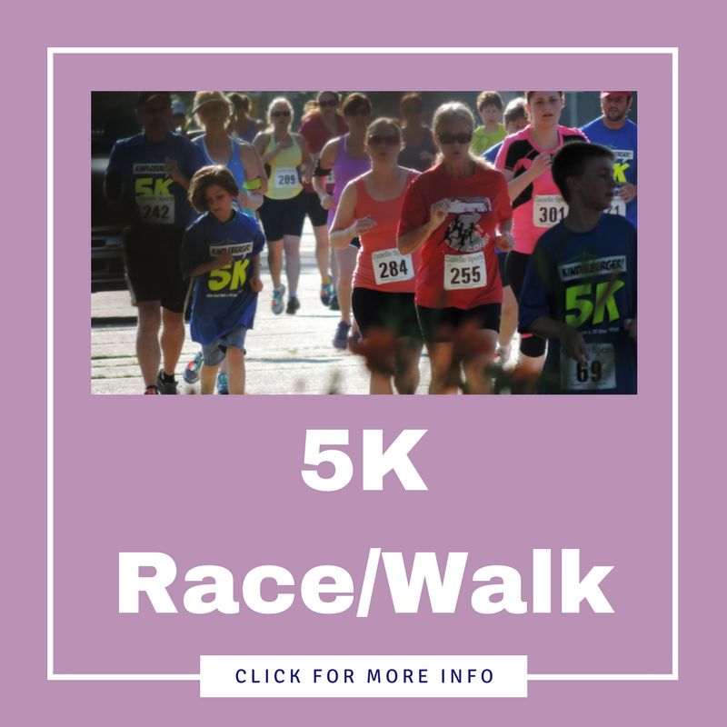 THE 2019 5K RACE/WALK AND KID'S FUN RUN HAS BEEN CANCELED! LOOK FOR ITS RETURN IN 2020!
