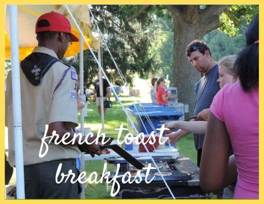 Troop 218    French Toast Breakfast