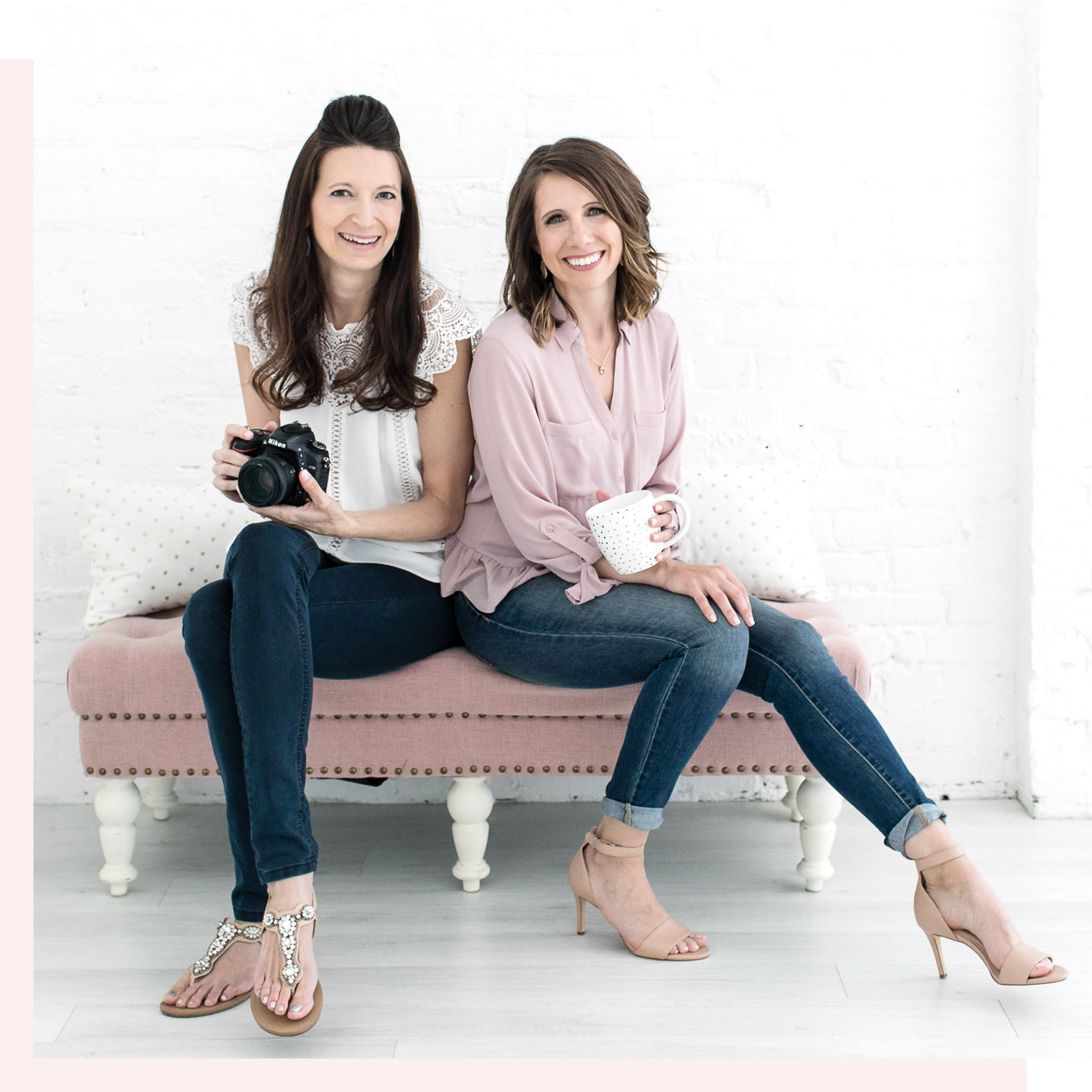 Corrie Barto and Jennie Newsome own Stock Love Studio, creating mockups and custom stock photography.