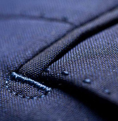 The AMF (pic stitch) - Our garments are finished by hand as can be seen in the subtle desired irregularity of the stitching.