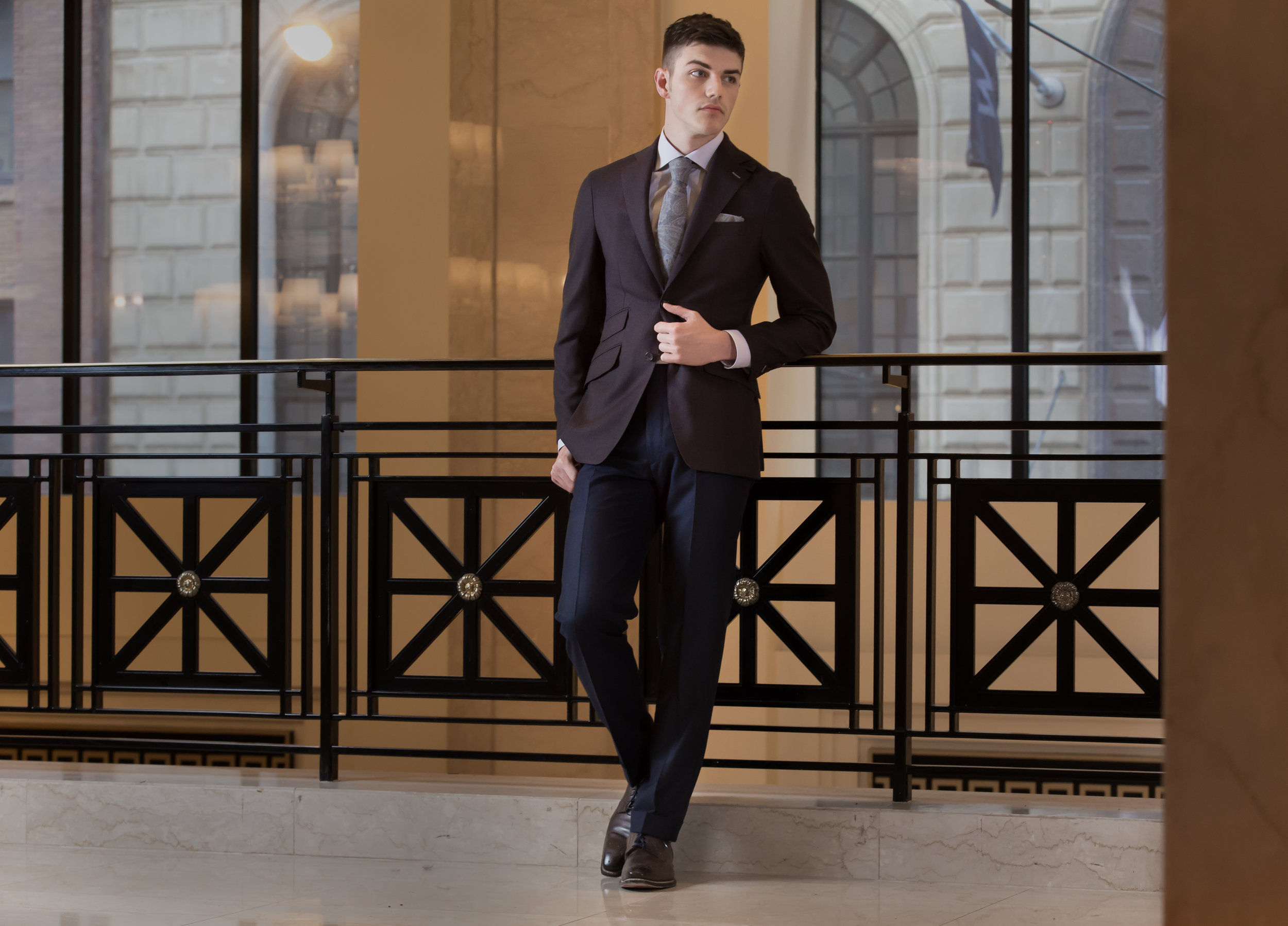 Daniel George custom made blazer