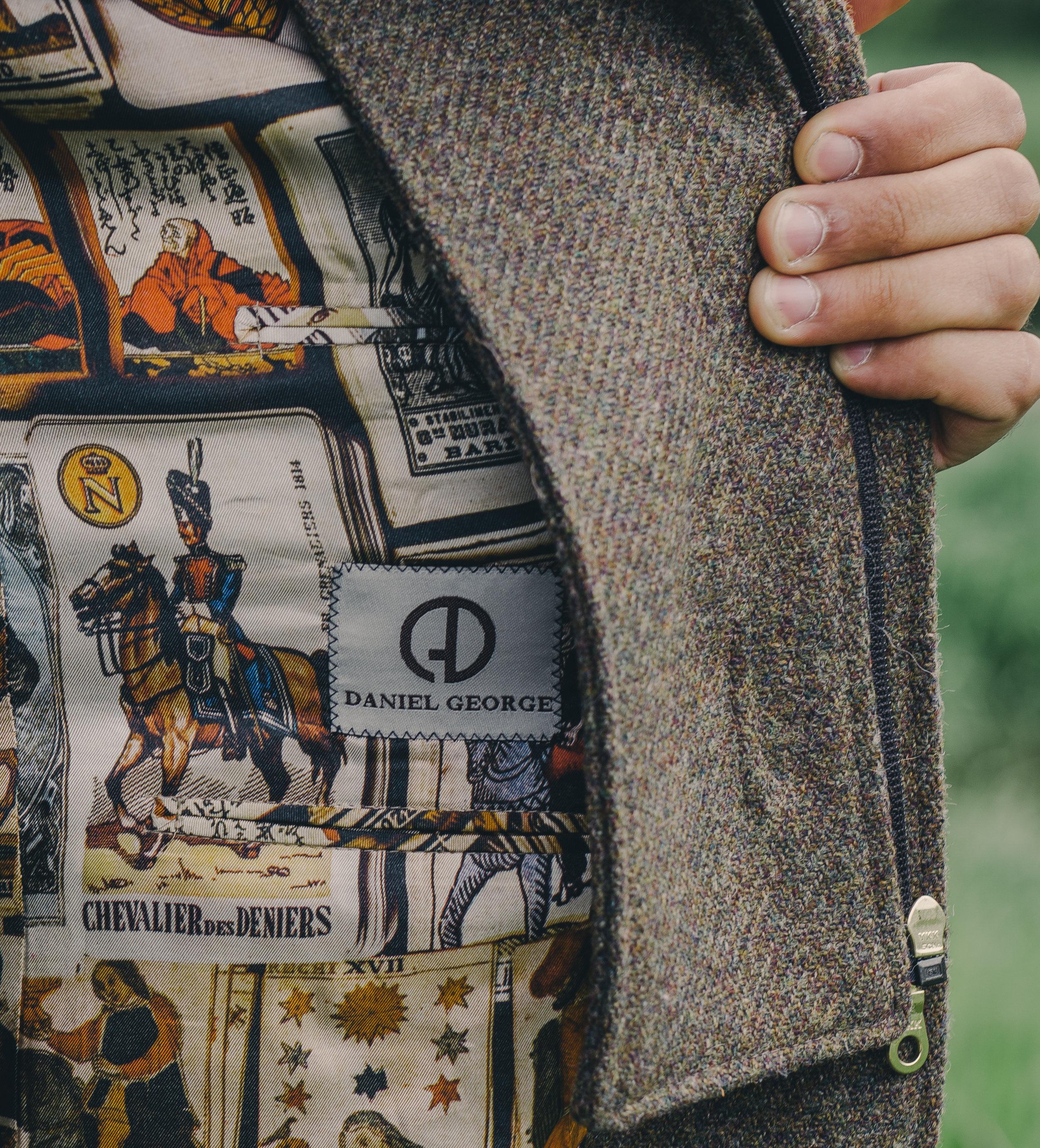 custom hunting coat lining