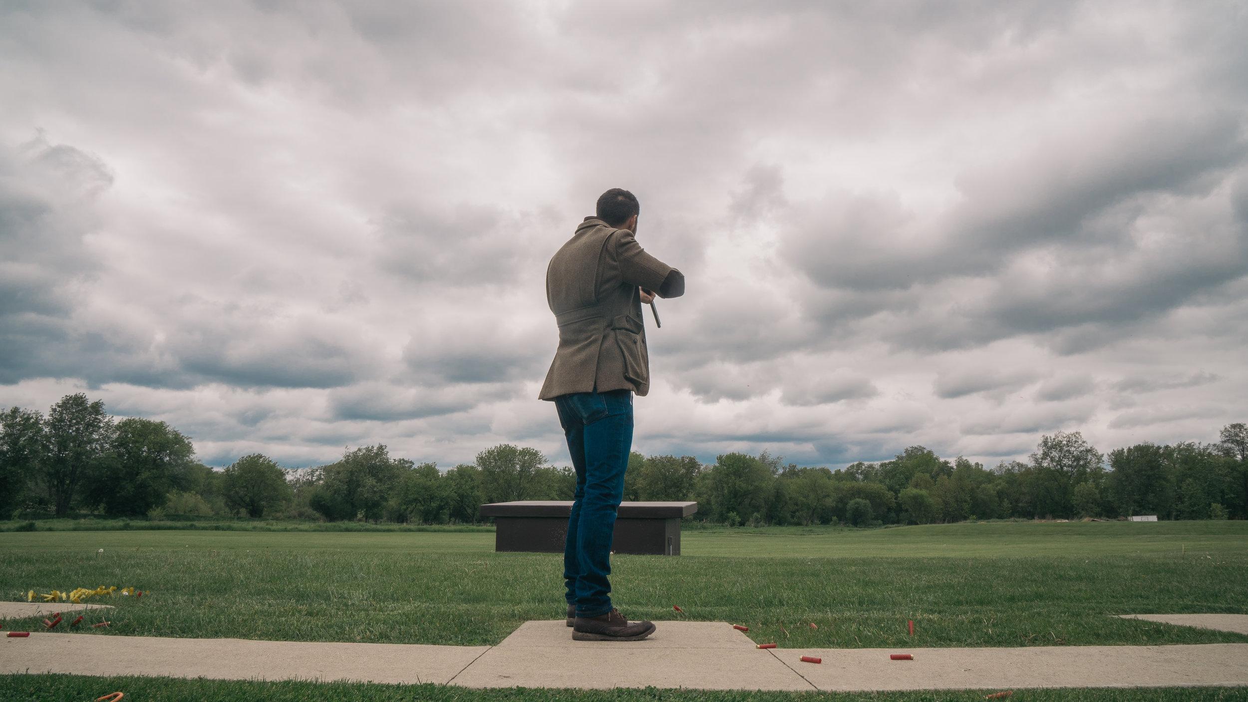 Daniel george custom shooting jacket