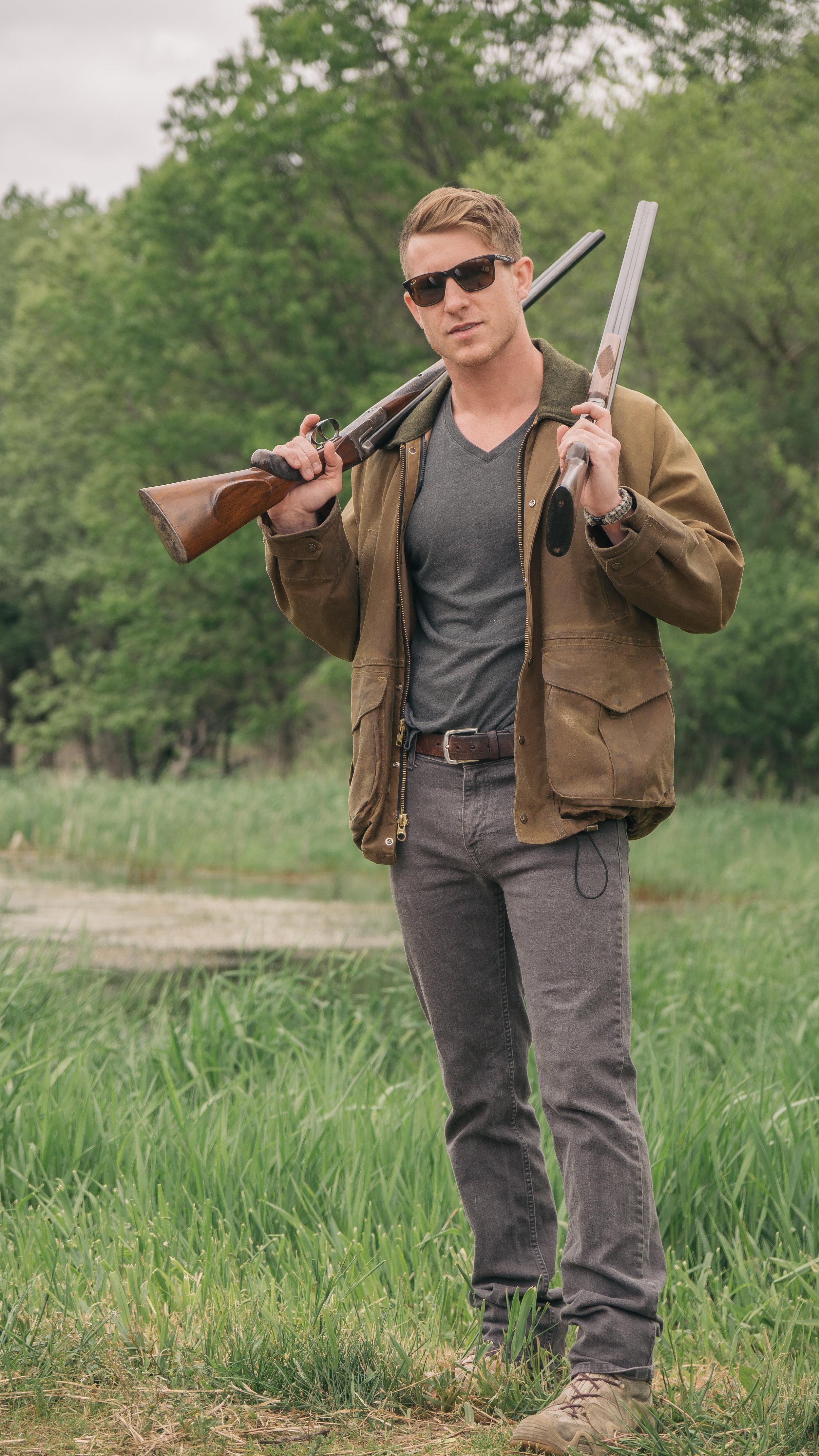Daniel George shotgun shooting jacket