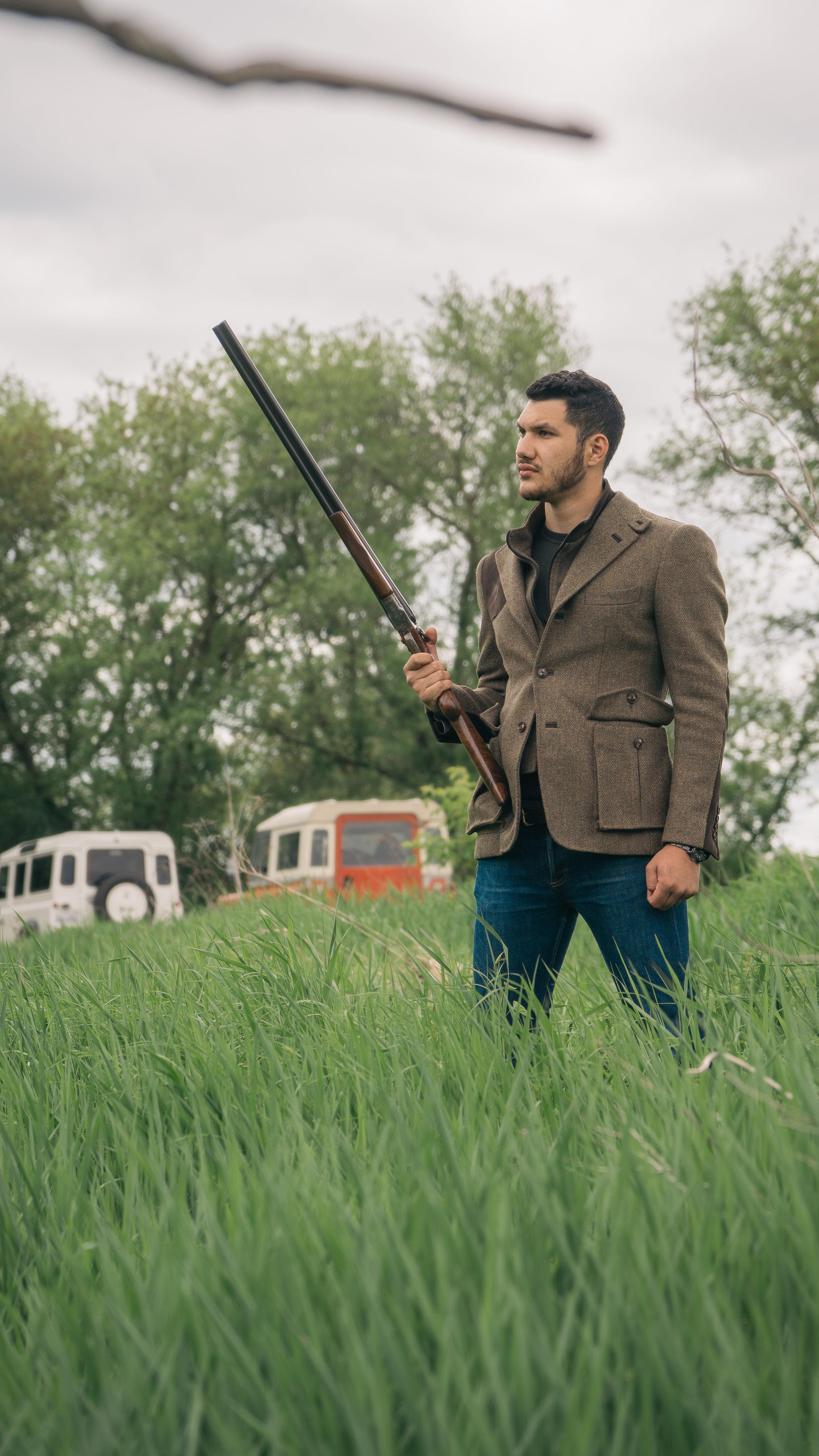 bespoke hunting jacket