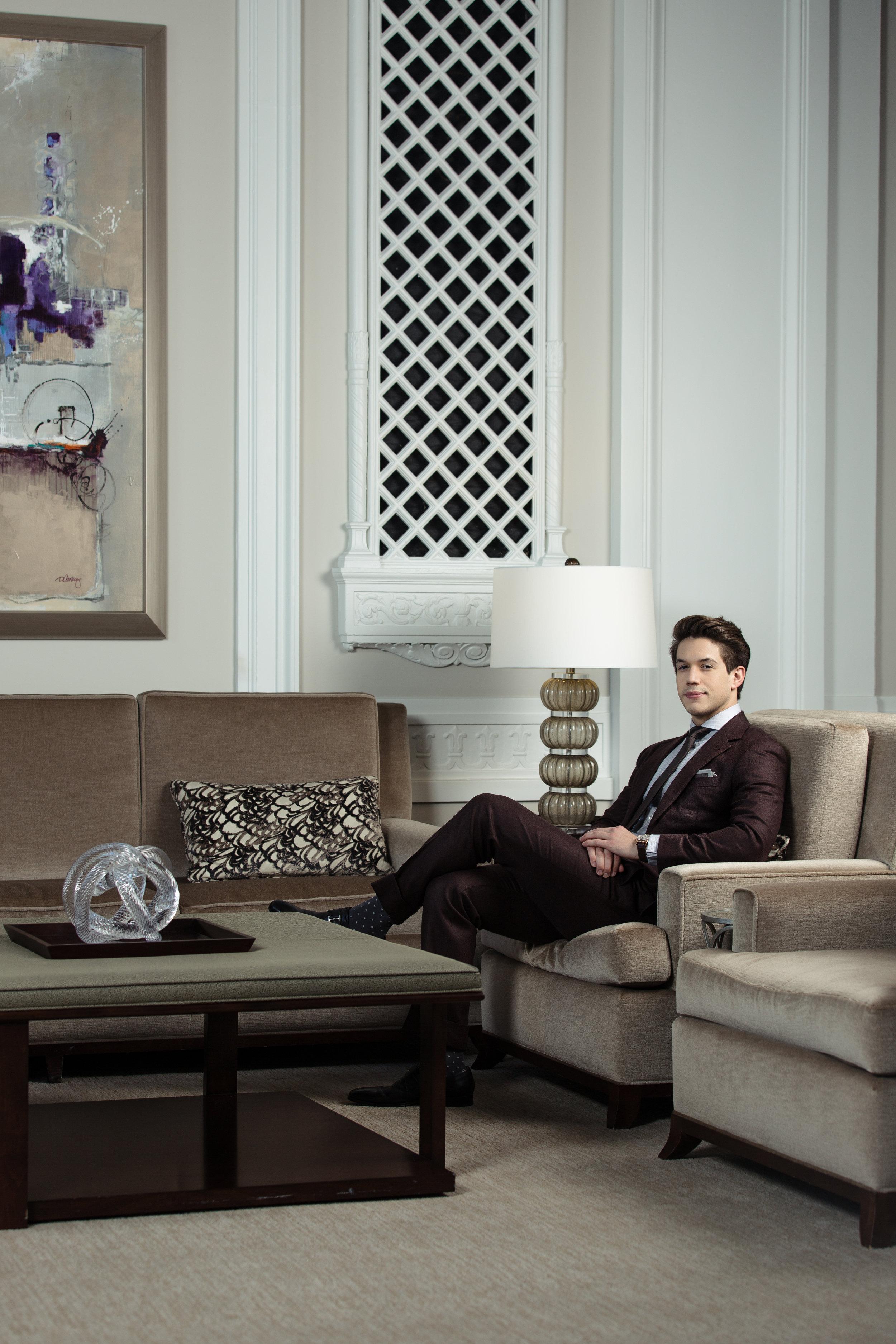 Daniel George bespoke suit
