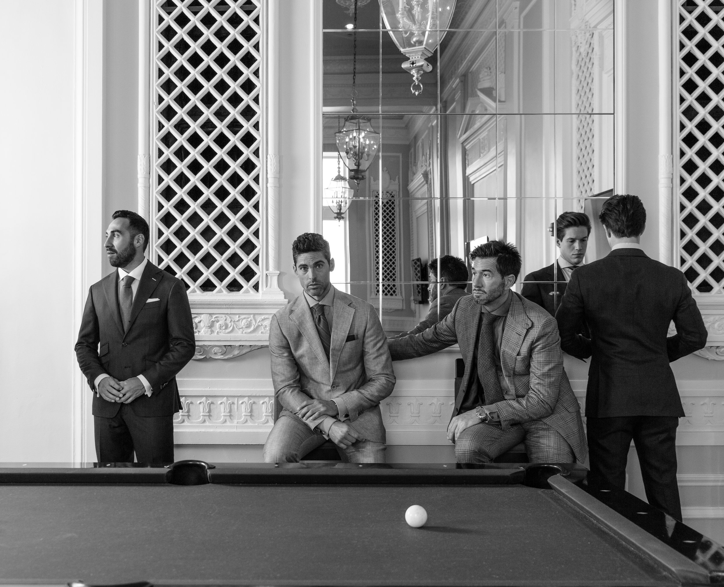 hand made bespoke suits