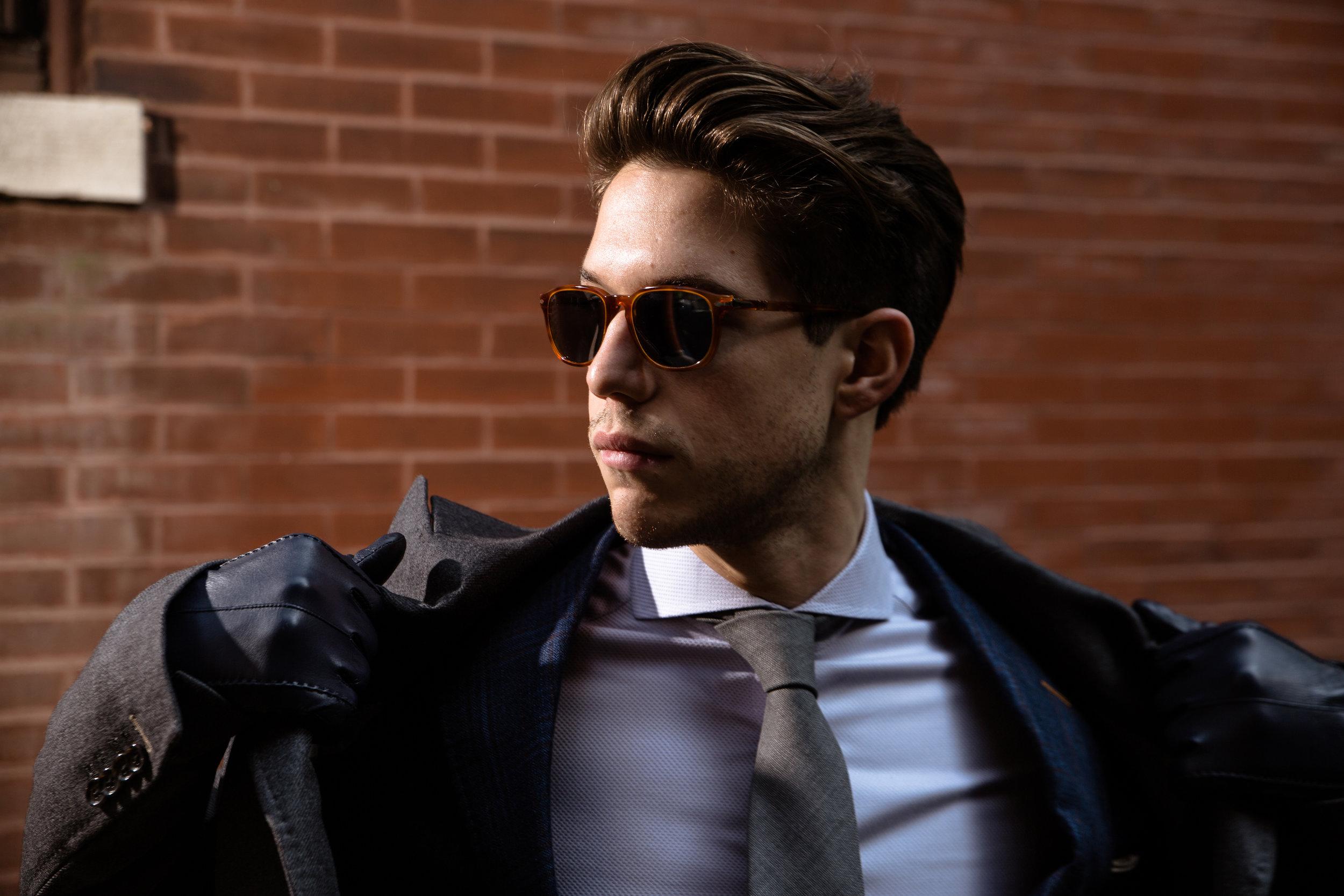 Daniel George custom topcoat