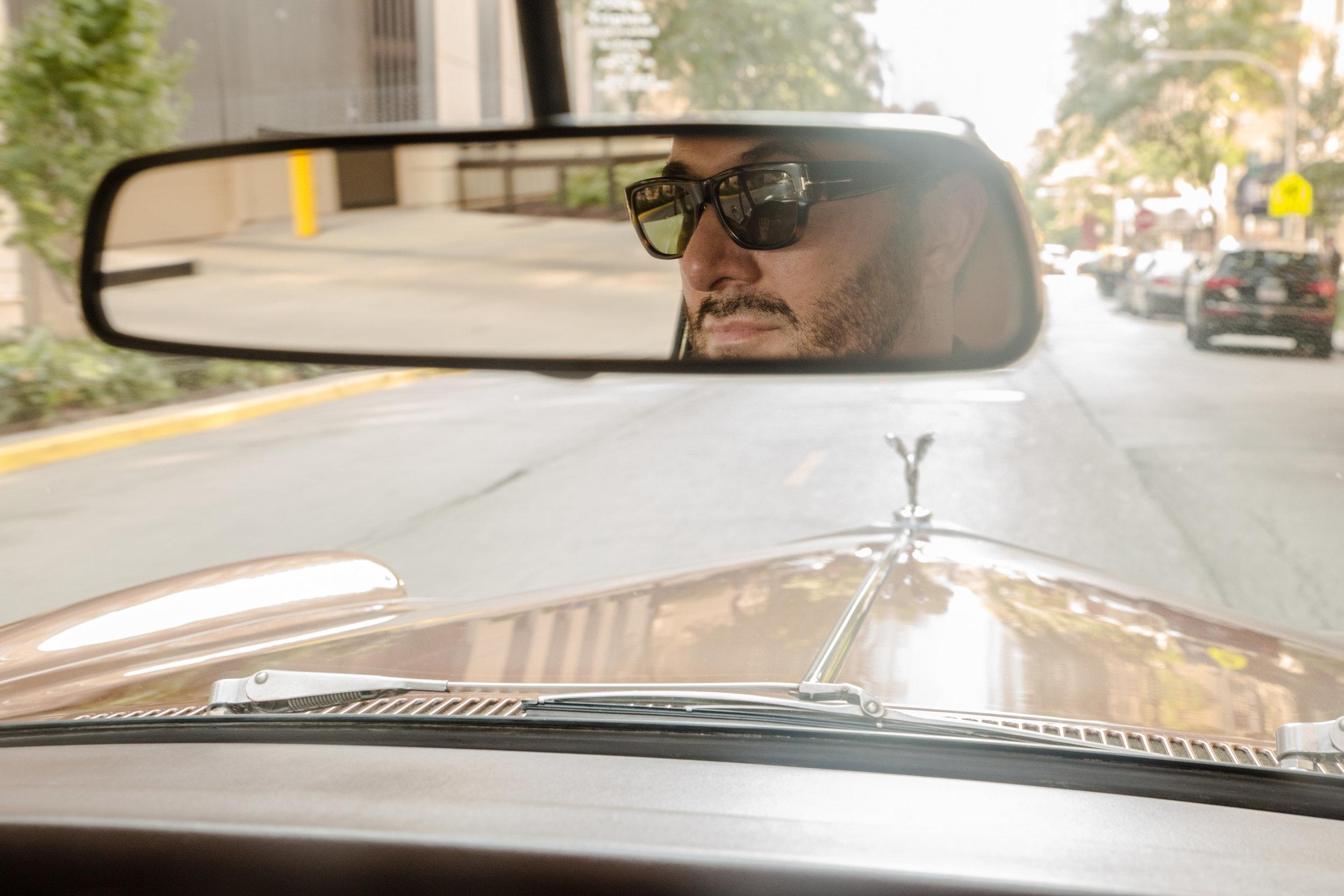 Daniel George Rolls Royce Corniche