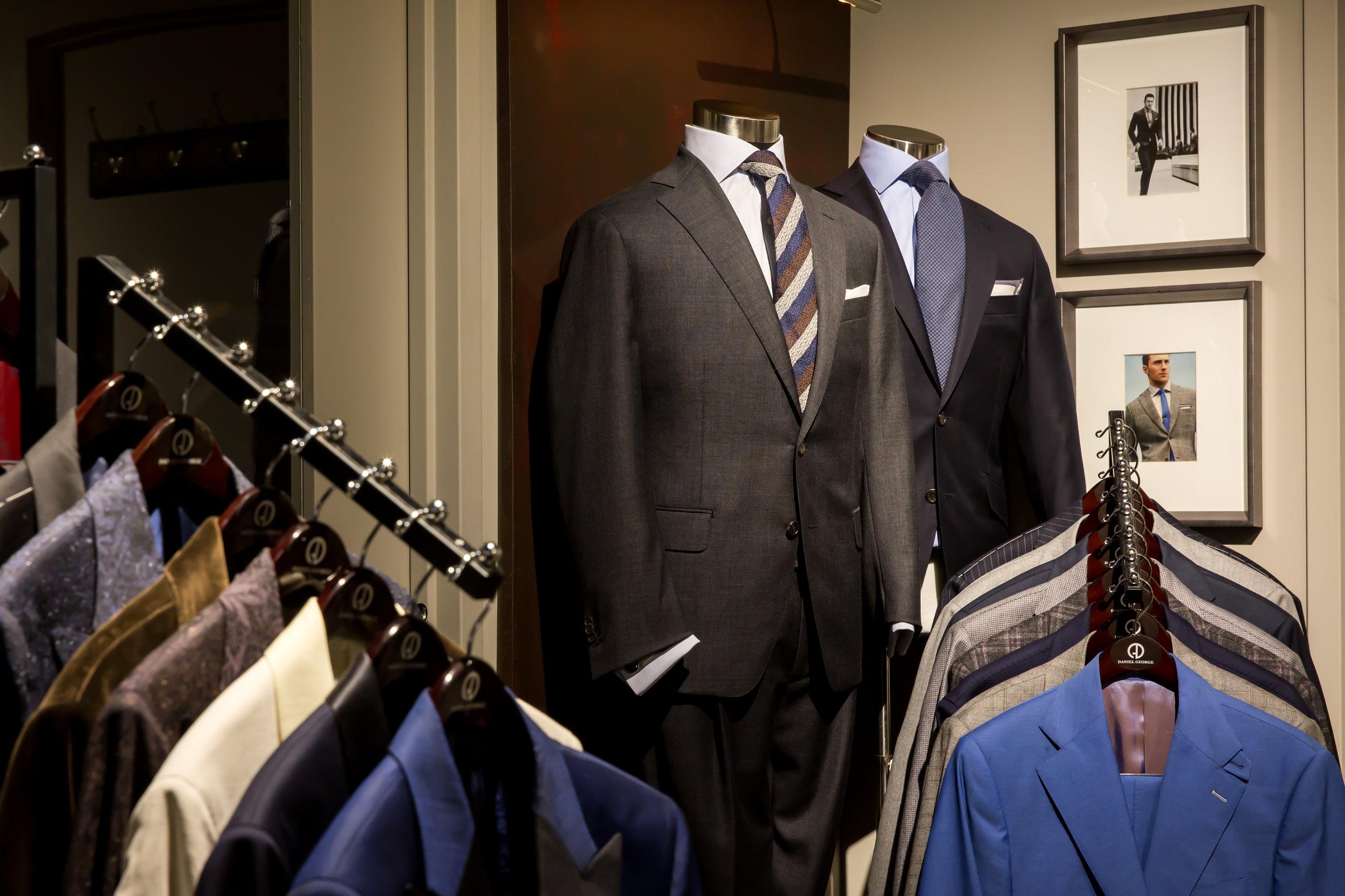 custom suits chicago