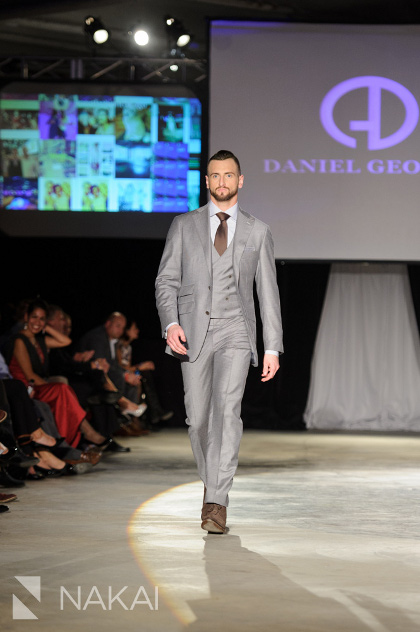 Daniel George Chicago custom 3 piece suits
