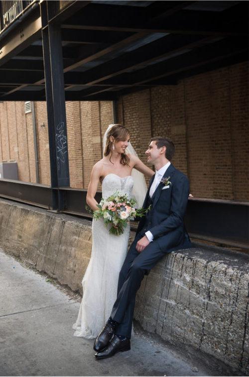 custom navy wedding suit chicago
