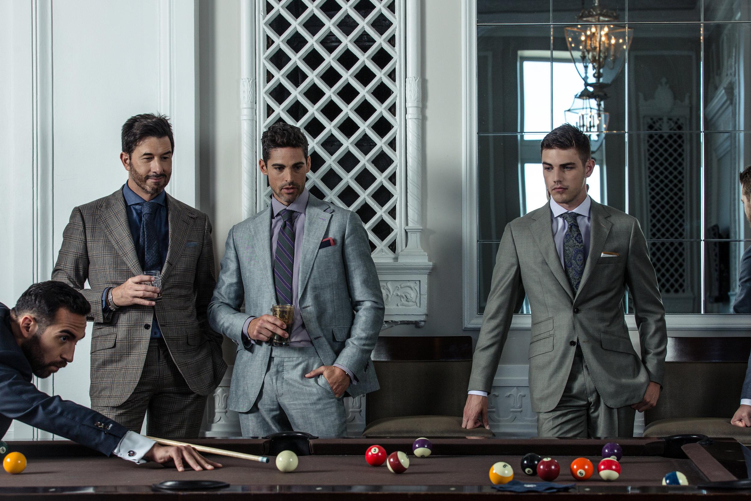 Daniel George custom suits chicago