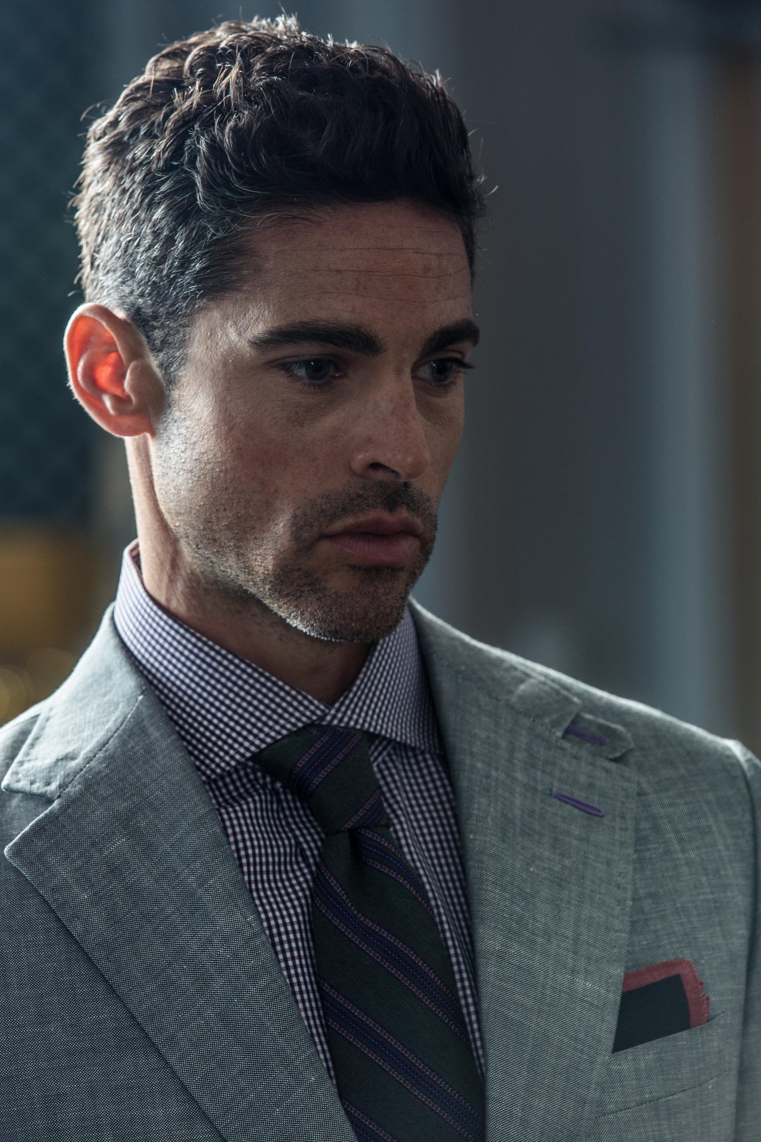 custom silver linen 2 piece suit