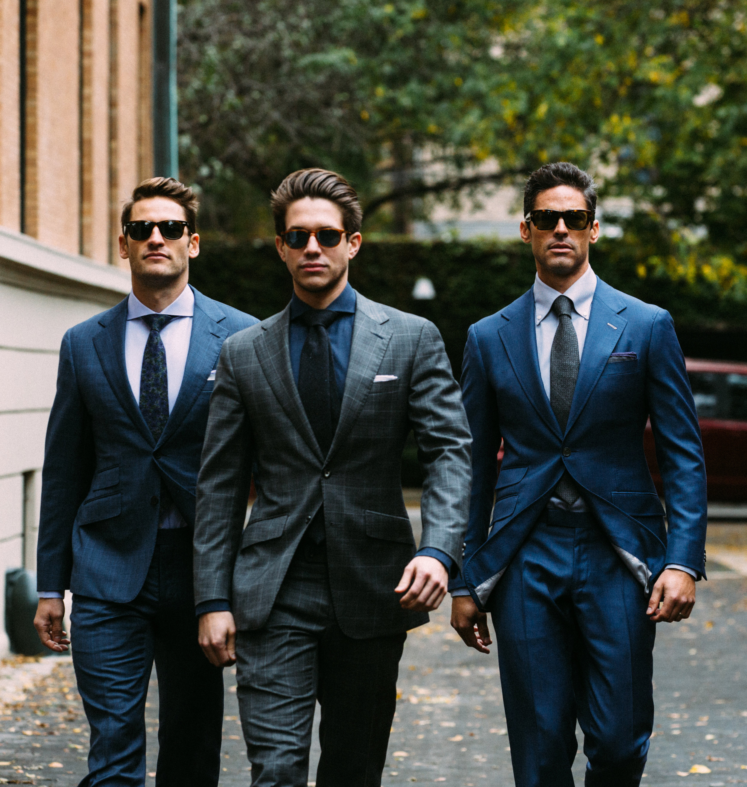 bespoke hand made suits chicago