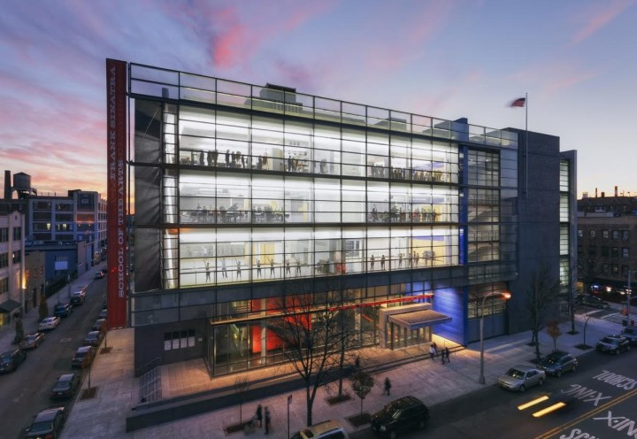 Frank Sinatra School of Arts, Polshek Partnership Architects (now Ennead Architects). © Ennead Architects