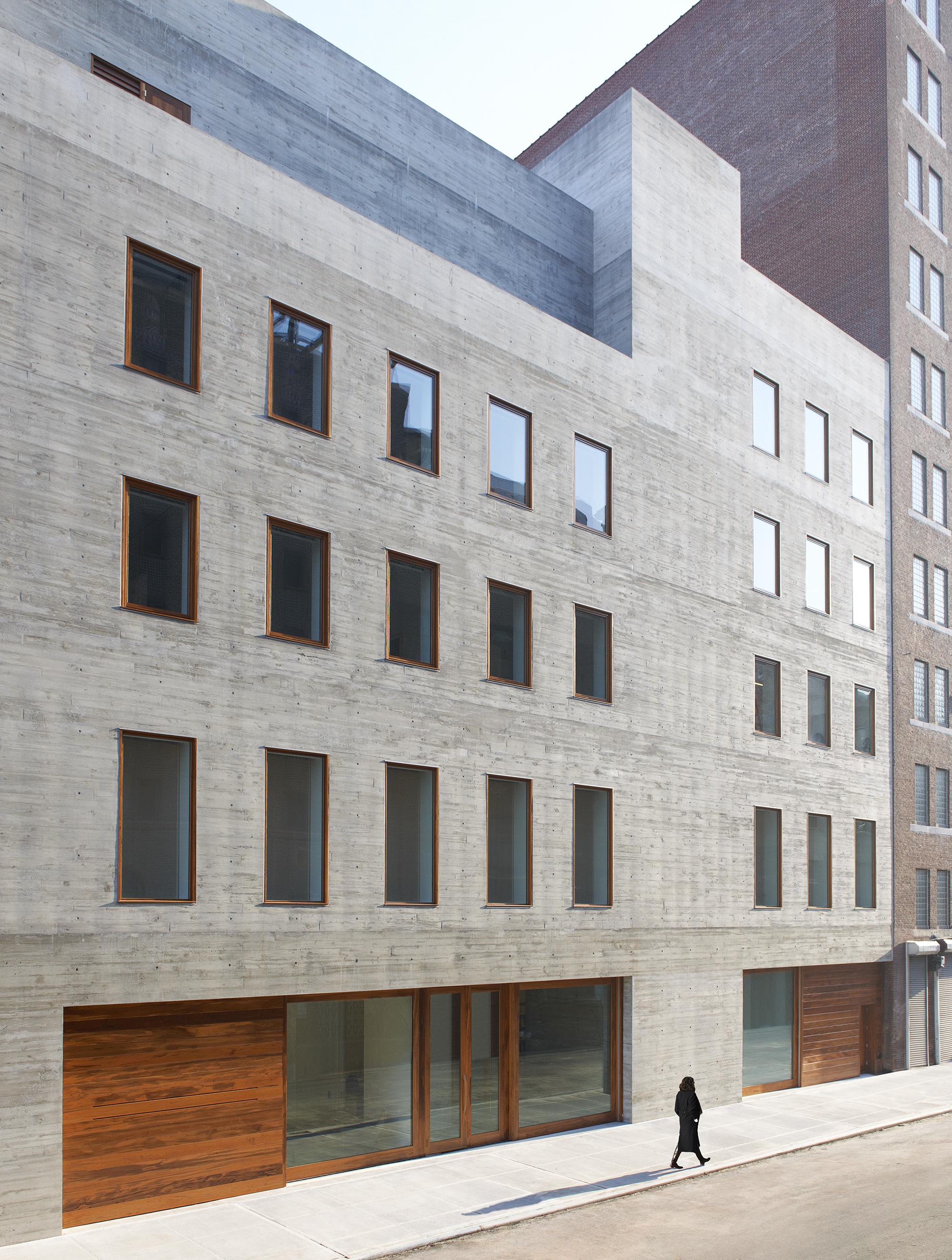 David Zwirner 20th Street, New York, NY, Selldorf Architects. Photo: Jason Schmidt, courtesy of Selldorf Architects.