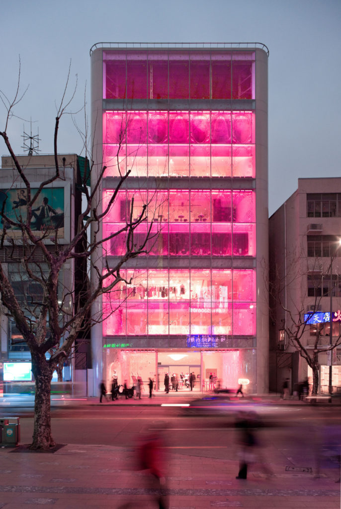 Barbie Shanghai, the Mattel Store designed by Slade Architecture