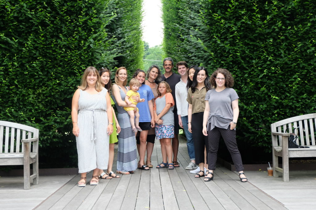 Slade Architecture with spouses and kids at annual summer office outing
