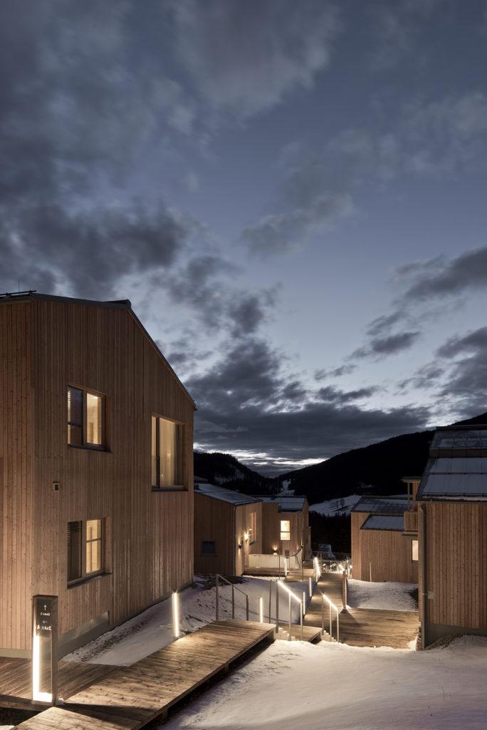 Berger Hofmann Architekten, Rittis Alpine Cabins, Ramsau am Dachstein, Austria. Image Credit: Volker Wortmeyer