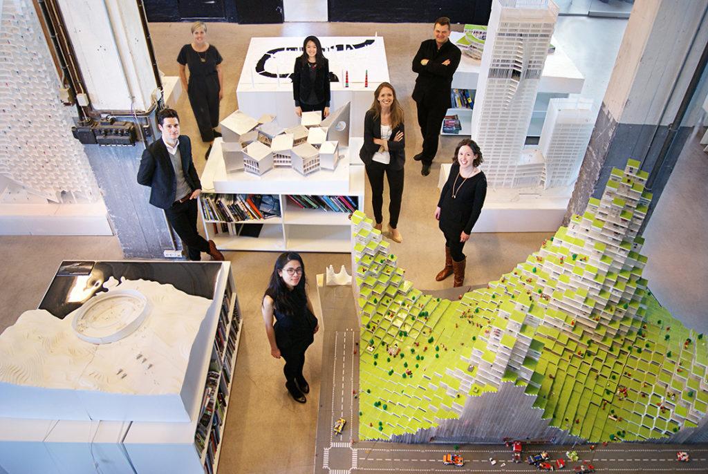 BIG's Business Development team in 2014.