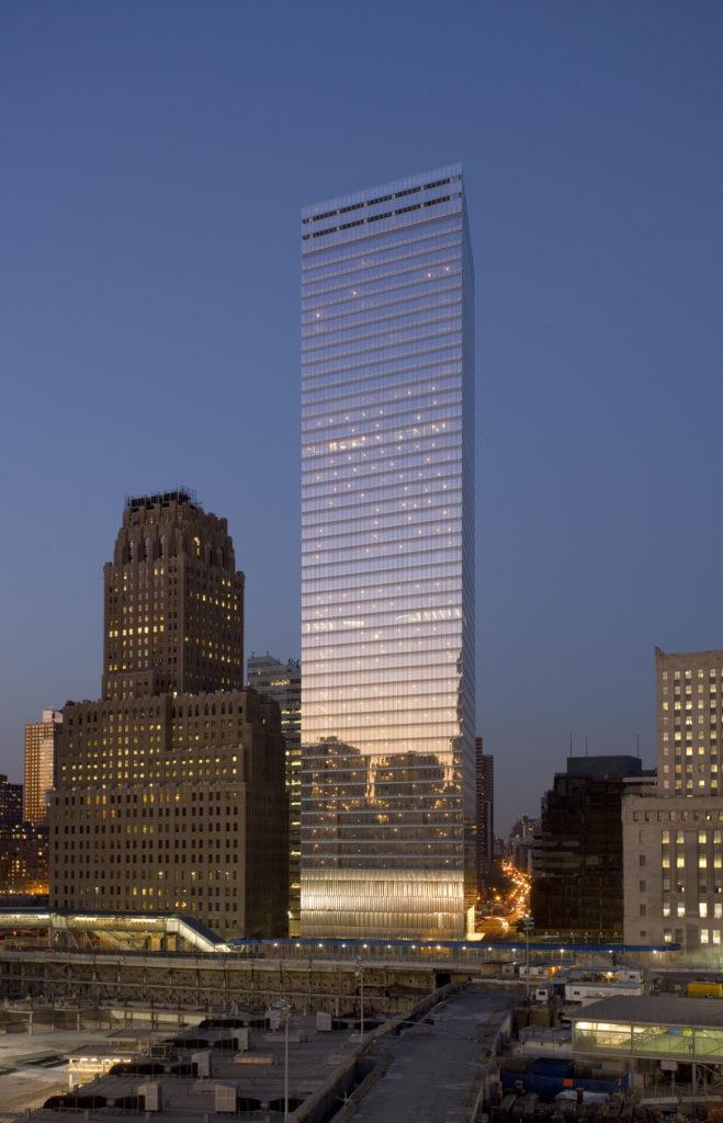 7 World Trade Center. Courtesy of SOM, photo by Dave Sundberg.