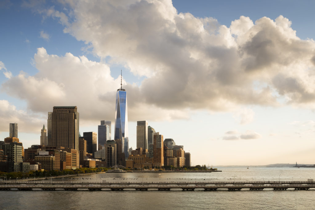 1 World Trade Center. Courtesy of SOM, photo by James Ewing.