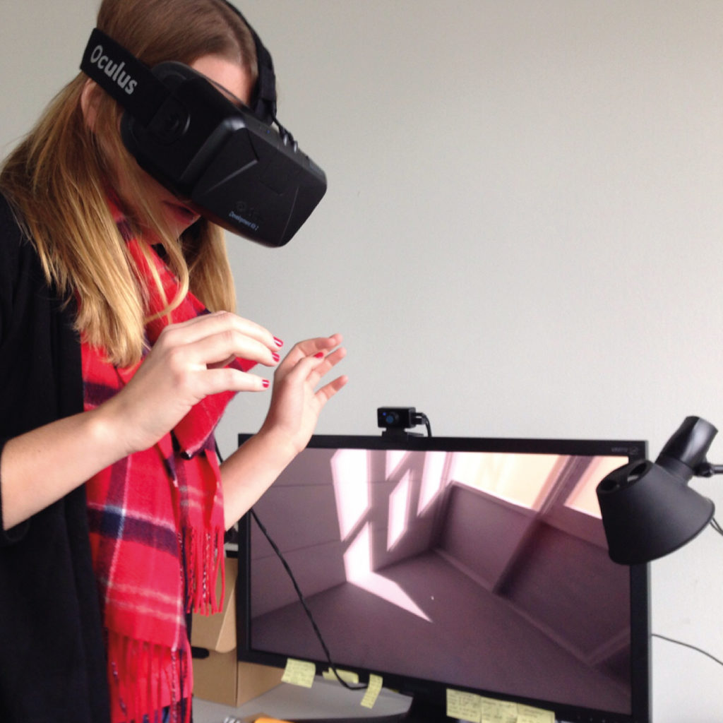Shevy working in VR