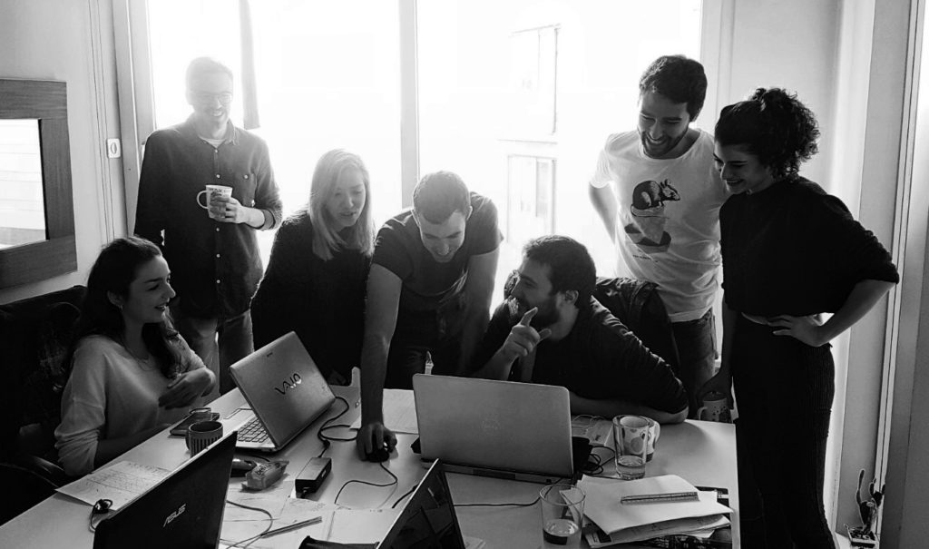 Openact Orient team, Istanbul, 2017