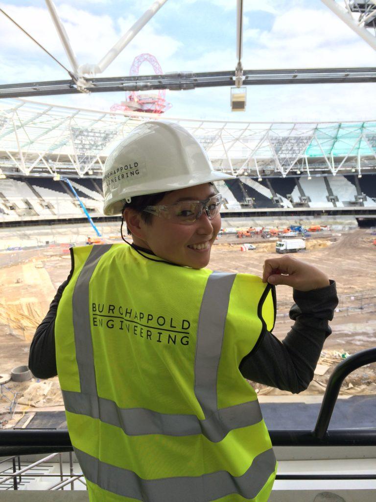 Jin at Buro Happold's 2012 London Olympic Stadium