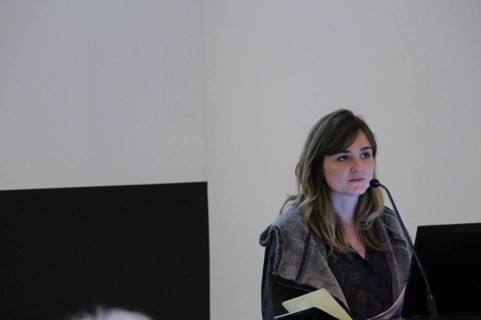 Lecturing in Frankfurt at the Deutsches Architekturmuseum