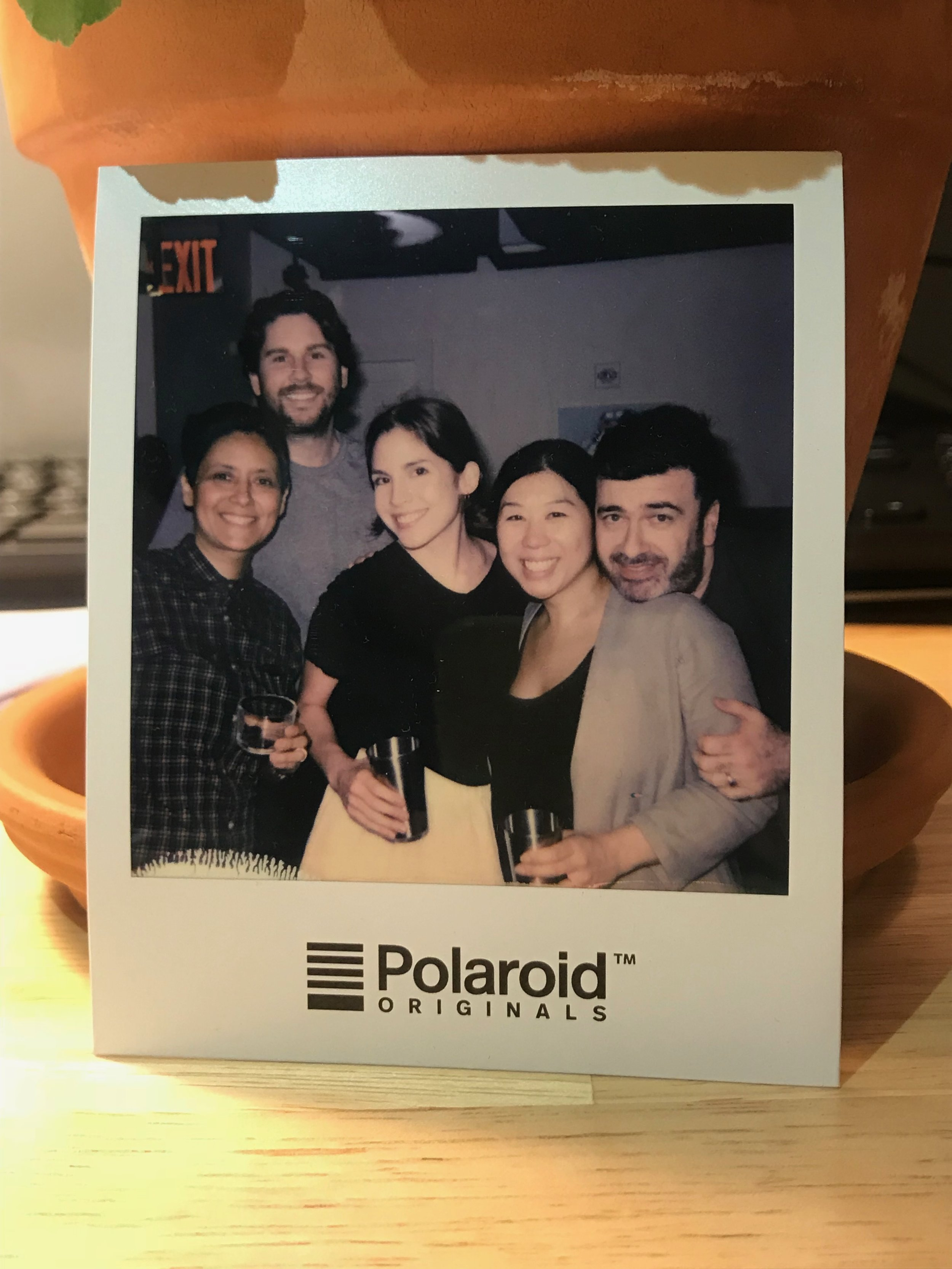 Alda with her growing team. From left to right:Bren Galvez-Moretti,Jonathan Craig,Daisy Hook, Alda Ly, and Rob Lendvai (not pictured:Talitha Liu & Loretta Choi