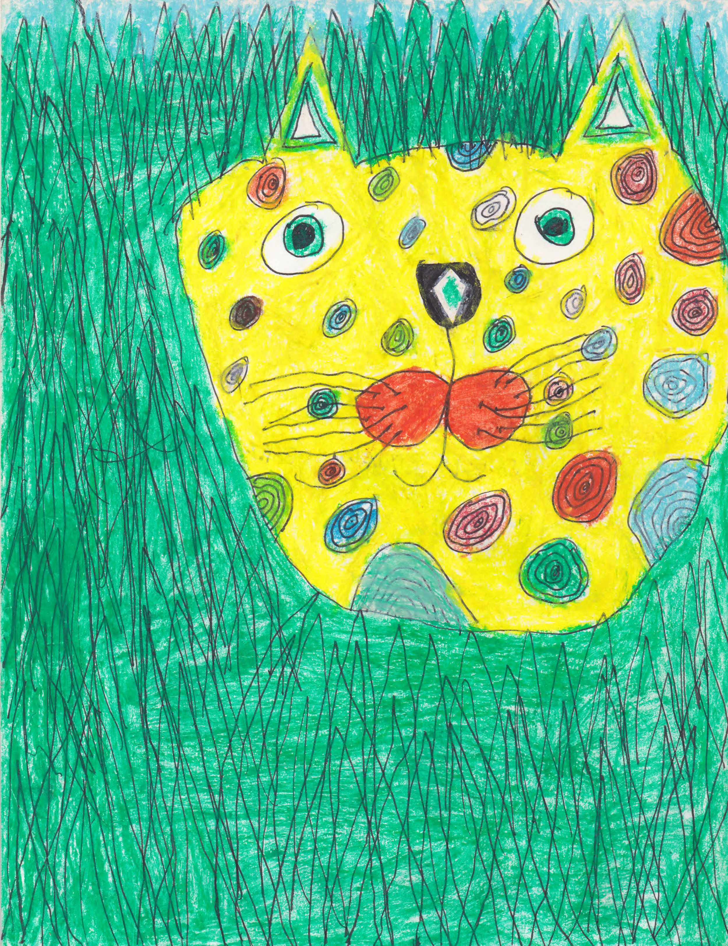 Isabel's drawing, 1999