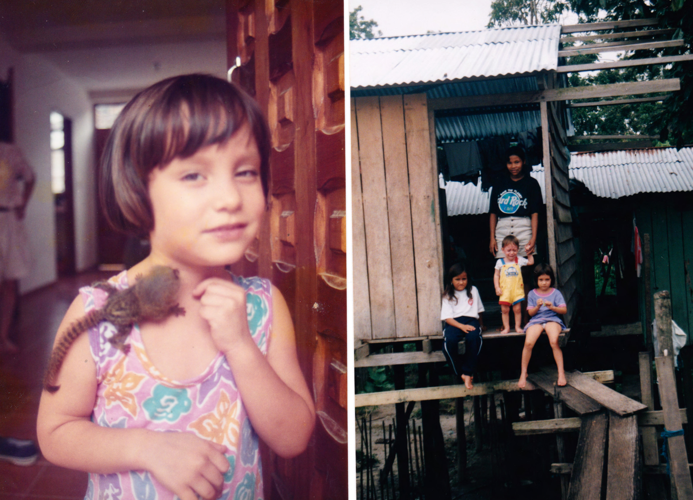 Isabel while living in the Amazon