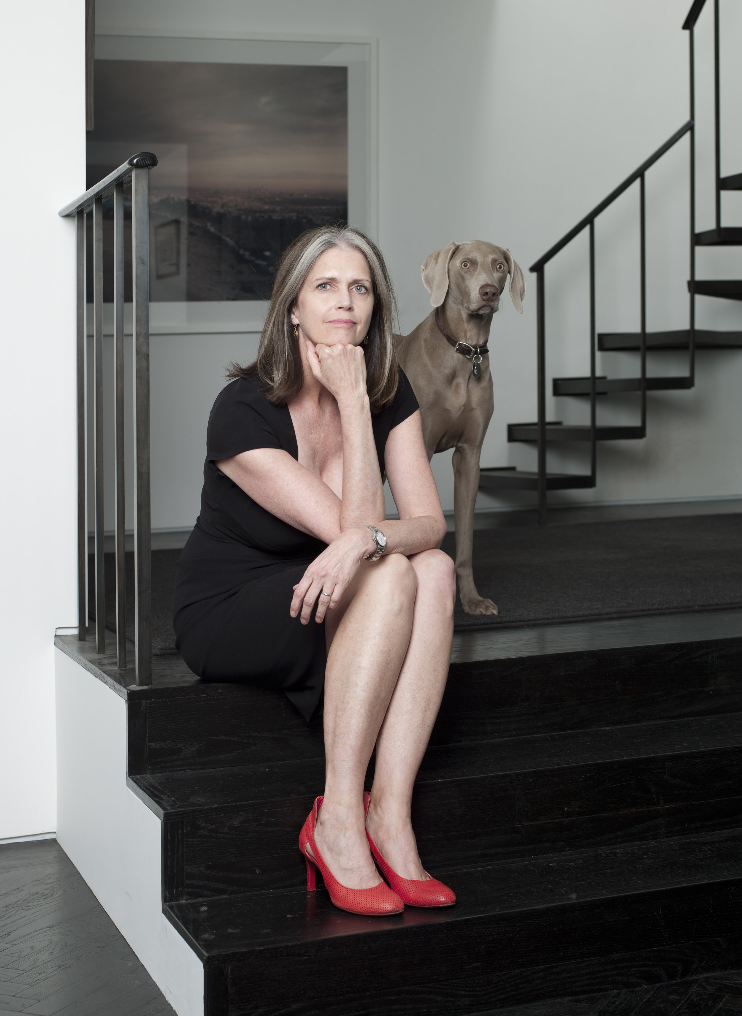 Deborah at home. Photo by Rebecca Greenfield