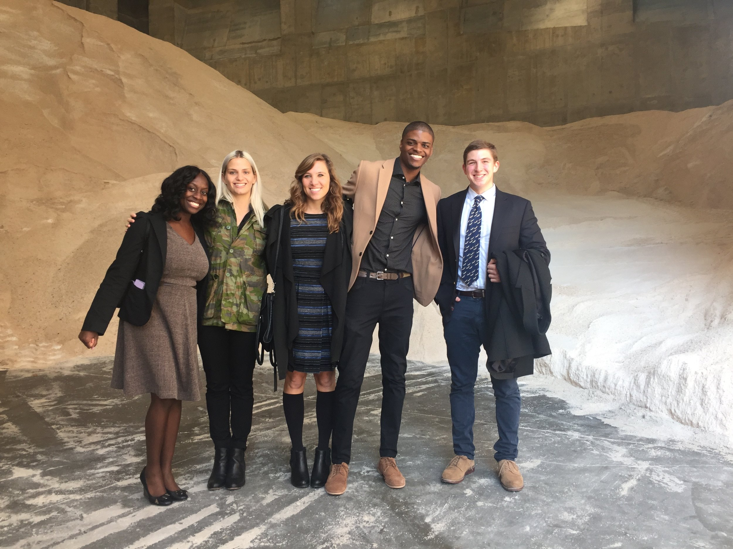 Ribbon Cutting of NYC Salt Shed on Spring Street; NYC DDC Creative Services + PR team