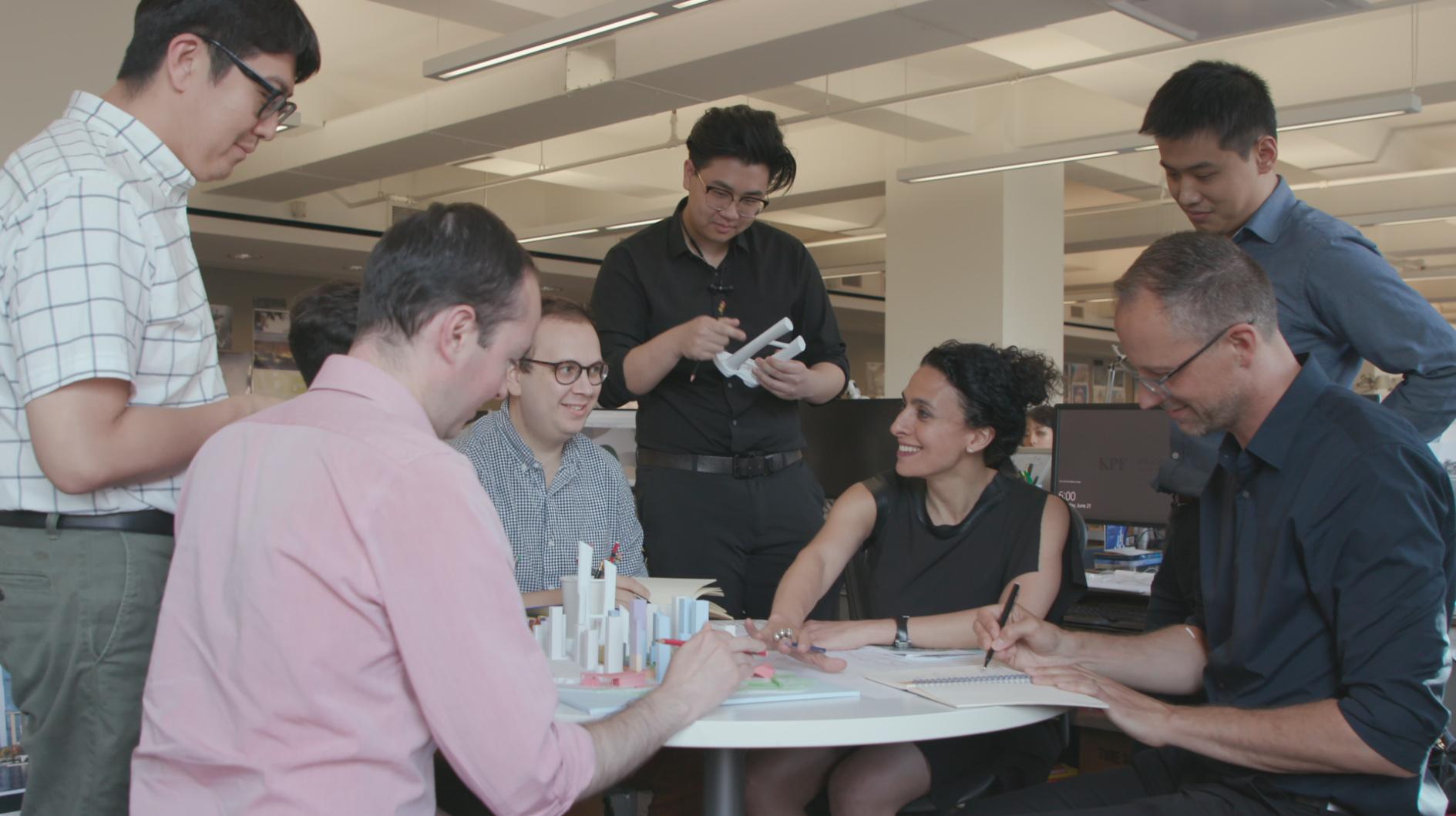 Team work session at KPF.