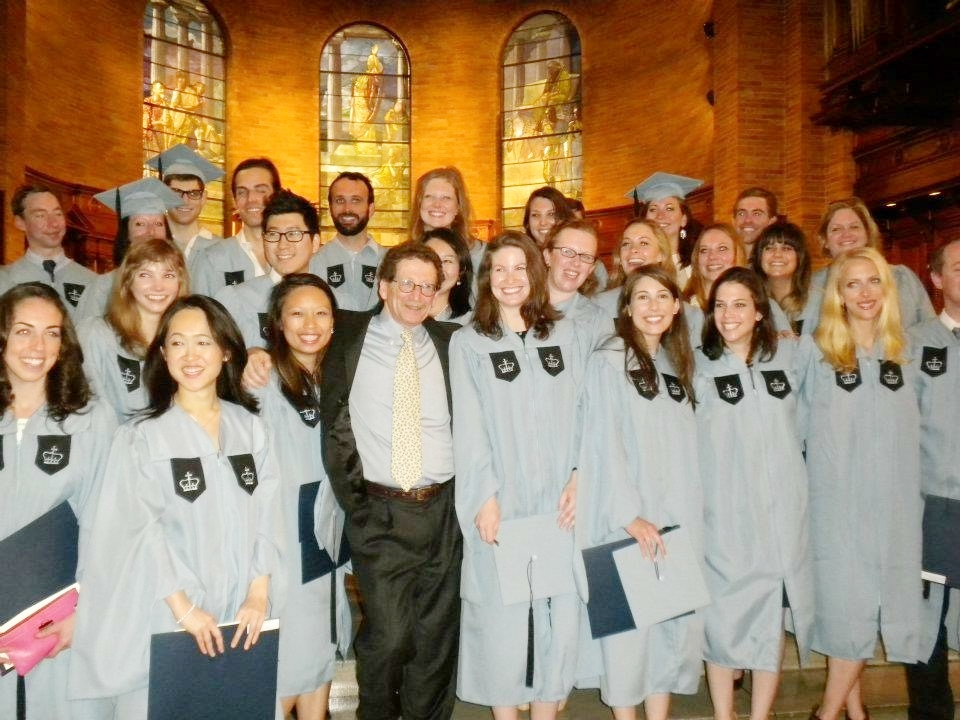 Columbia University GSAPP M.S. in Historic Preservation Graduating Class, May 2012