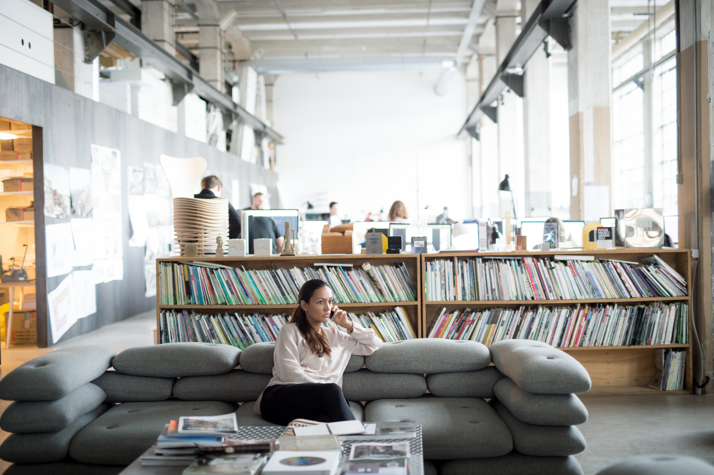 Sheela divides her time between BIG's offices in NYC, London and Copenhagen (above) - photo by Flemming Leitorp.