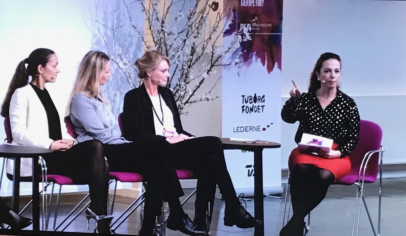 Sheela speaks about women, management and diversity at her alma mater Copenhagen Business School.